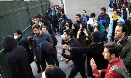 Власти Ирана пригрозили демонстрантам «железным кулаком» - «Ближний Восток»