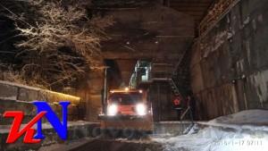 За ночь «Крымавтодор» очистил от снега тысячу километров дорог - «Керчь»