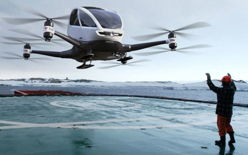 Старт продаж летающих машин запланирован на 2018 год ! - «Фото»