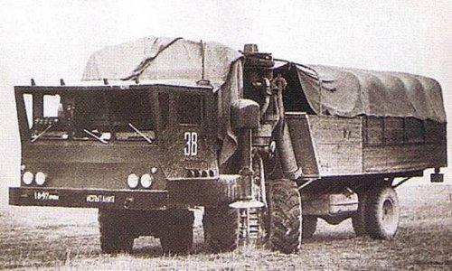 Опытный вездеход-транспортер ЗИЛ-135Ш - «Военные действия»