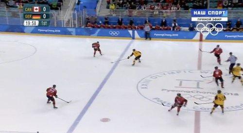 Хоккей: Германия - Канада, 1/2 финала - «Политика»