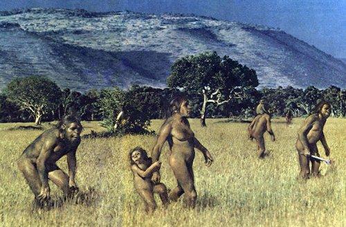 Какой была жизнь детей в каменном веке ! - «Фото»