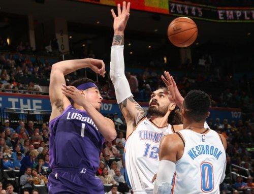 НБА. «Голден Стэйт» обыграл «Сан-Антонио», «Оклахома» разгромила «Финикс» (+Видео) - «Баскетбол»