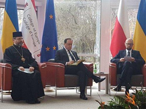 """Яценюк в Варшаве: """"Северный поток-2"""" - угроза для Европы - «Военные действия»"""