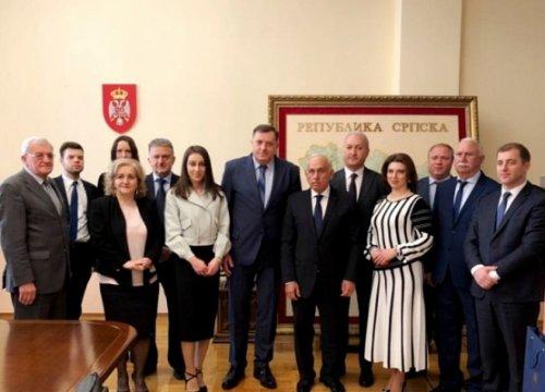Президент Республики Сербской встретился сабхазской делегацией - «Большой Кавказ»
