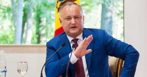 Додон: УМолдавии нет обязательств высылать российских дипломатов - «Европа»