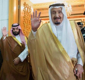 Король Салман поблагодарил Трампа за«тёплый приём» наследного принца - «Политика»
