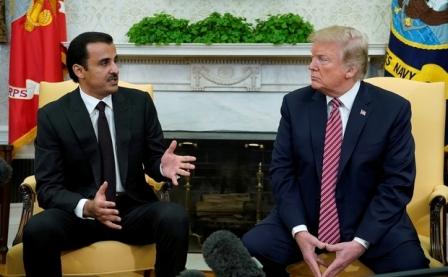 Трамп: Эмир Катара— «джентльмен, который покупает уСША много вещей» - «Технологии»