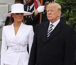 Образ Мелании Трамп в белой шляпе стал историческим