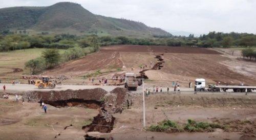 Возле столицы Кении образовался разлом вземной коре - «Происшествия»