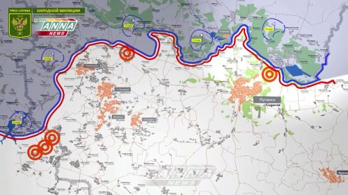 Оперативная сводка по обстрелам территории ЛНР за сутки с 24 на 25 апреля 2018 года  - (ВИДЕО)