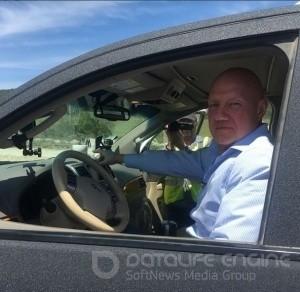 Вице-премьер проверил «Тавриду» на авто и с кофе - «Керчь»