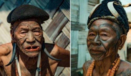 Последние воины из племени коньяки ! - «Фото»