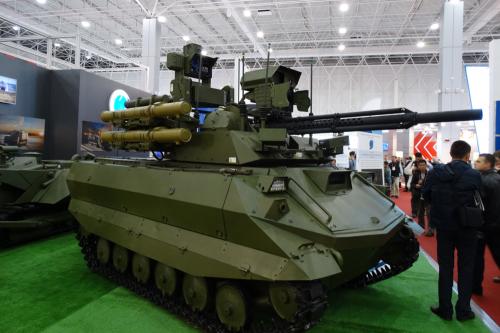 Революционное оружие. NI оценил российские робототехнические комплексы - «Военные действия»