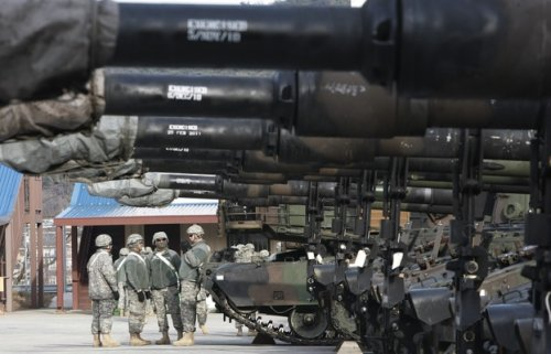 ВЛитве проводятся военные манёвры «Огненный гром-2018» - «Политика»