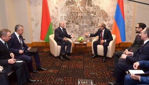 Лукашенко встретился вСочи спремьером Армении - «Большой Кавказ»