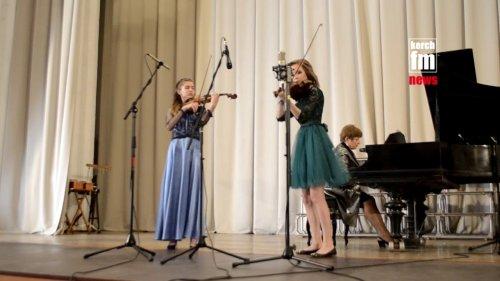 Отчетный концерт керченской музыкальной школы 2018  - (ВИДЕО)