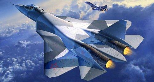 МинобороныРФ заключило контракт напоставку первых 12 истребителей Су-57 - «Технологии»