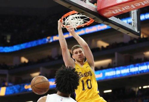 Михайлюк дебютировал за «Лейкерс» в Летней лиге НБА (+Видео) - «Баскетбол»