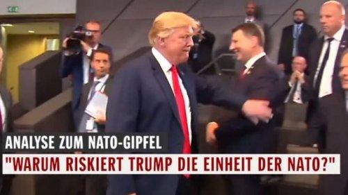 Трамп похлопал Вейониса поплечу: вЛатвии гадают, чтобы это значило - «США»