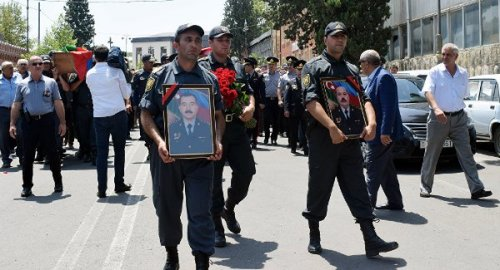 Поделу обеспорядках вГяндже ликвидирован один изподозреваемых - «Большой Кавказ»