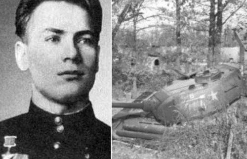 Советские танкисты, которые держали оборону боевой машины 13 дней ! - «Фото»