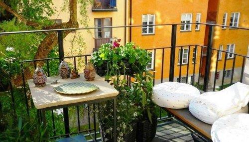 Самые красивые миниатюрные балконы ! - «Фото»