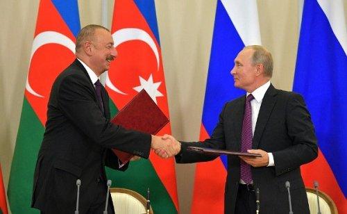 Путин иАлиев приняли План действий поключевым направлениям сотрудничества - «Большой Кавказ»