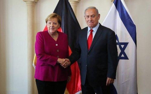 Меркель вИзраиле: Иран вСирии— угроза для еврейского государства - «Новости Дня»