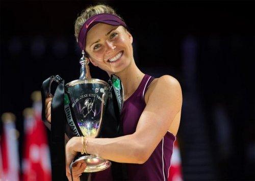 Итоговый турнир WTA. Победа Свитолиной над Стивенс: обзор финального матча (Видео) - «Теннис»