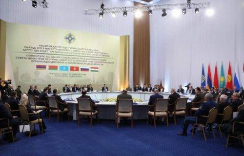 ВАстане министры ОДКБ обсудили военный потенциал организации - «Политика»