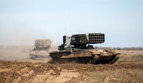 Российский спецназ иТОС-1А помогают сирийской армии добивать боевиковИГ - «Технологии»