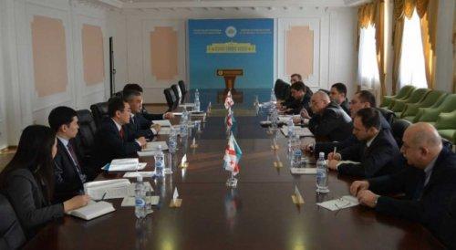 Грузия иКазахстан обсудили проект ТРАСЕКА - «Энергетика»