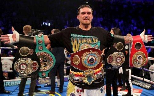 Александр Усик — лучший боксер года по версии ESPN - «Бокс»