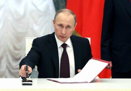 Указом Путина приостановлен договор РСМД между Россией иСША - «Политика»